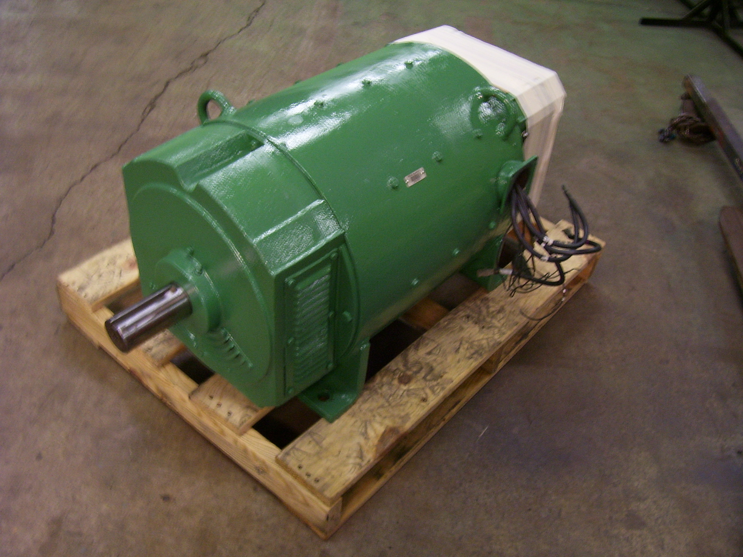 Emrc for Large dc electric motor